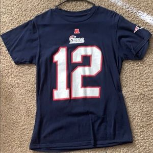 Tom Brady Patriots T-shirt